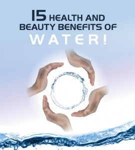 15 Health and Beauty Benefits of Water!