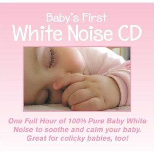 Baby's First White Noise: White Noise CD for Babies