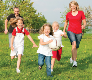 MAKE EXERCISE A FAMILY PRIORITY